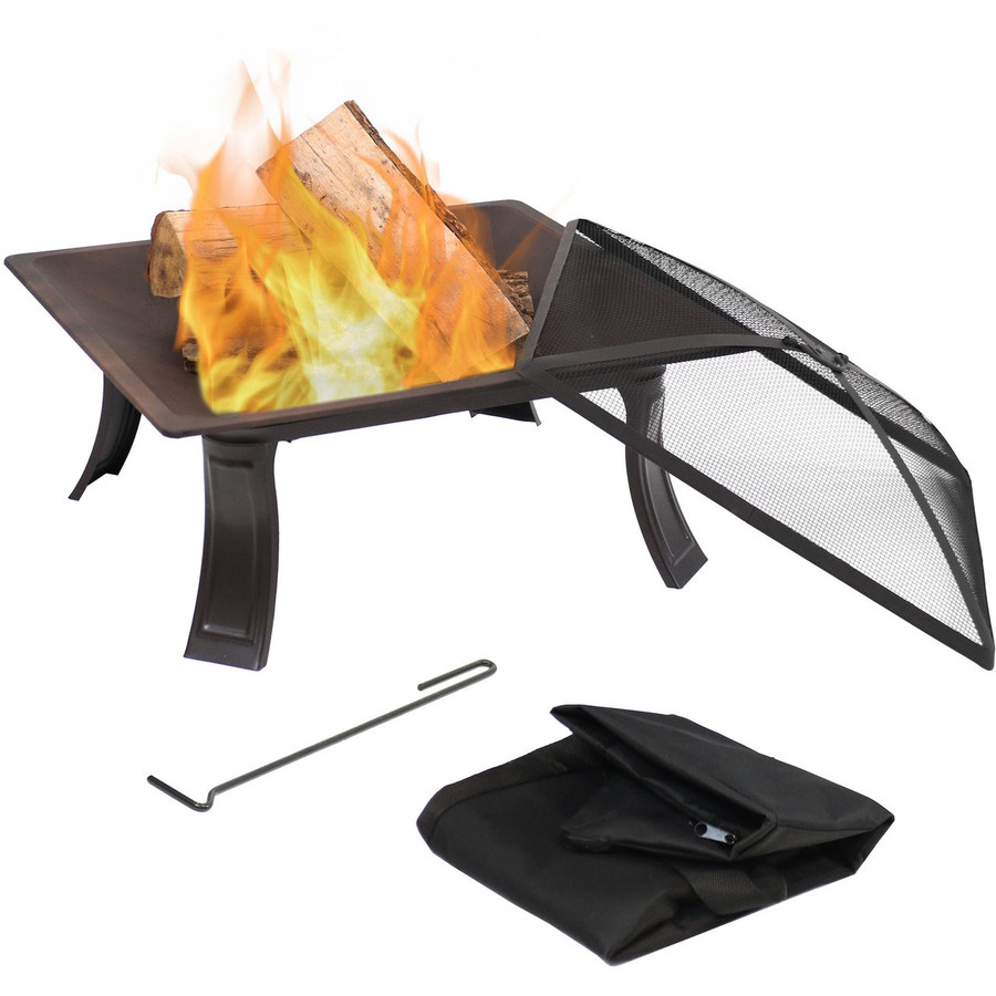Portable Square Fire Pit