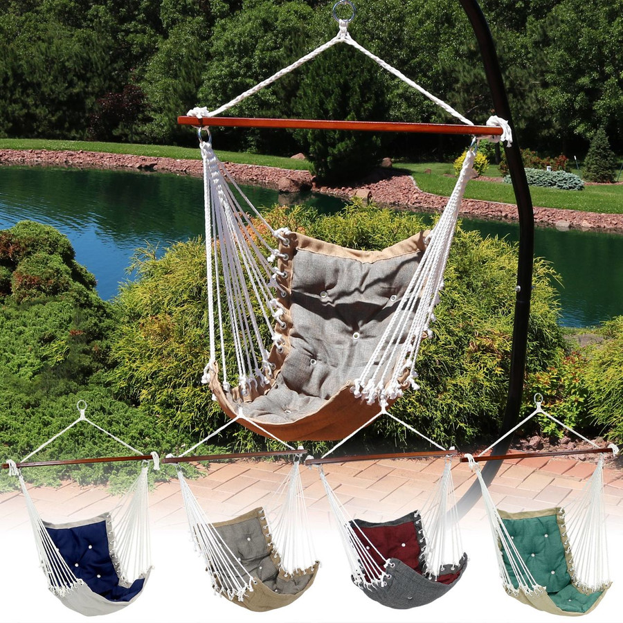Tufted Victorian Hammock Swing
