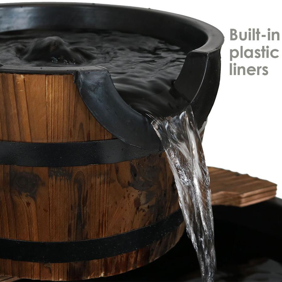 Built-In Plastic Liners