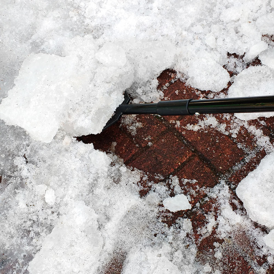 CASL Brands Steel Shock-Absorbing Ice Chopper with Extra-Thick Blade