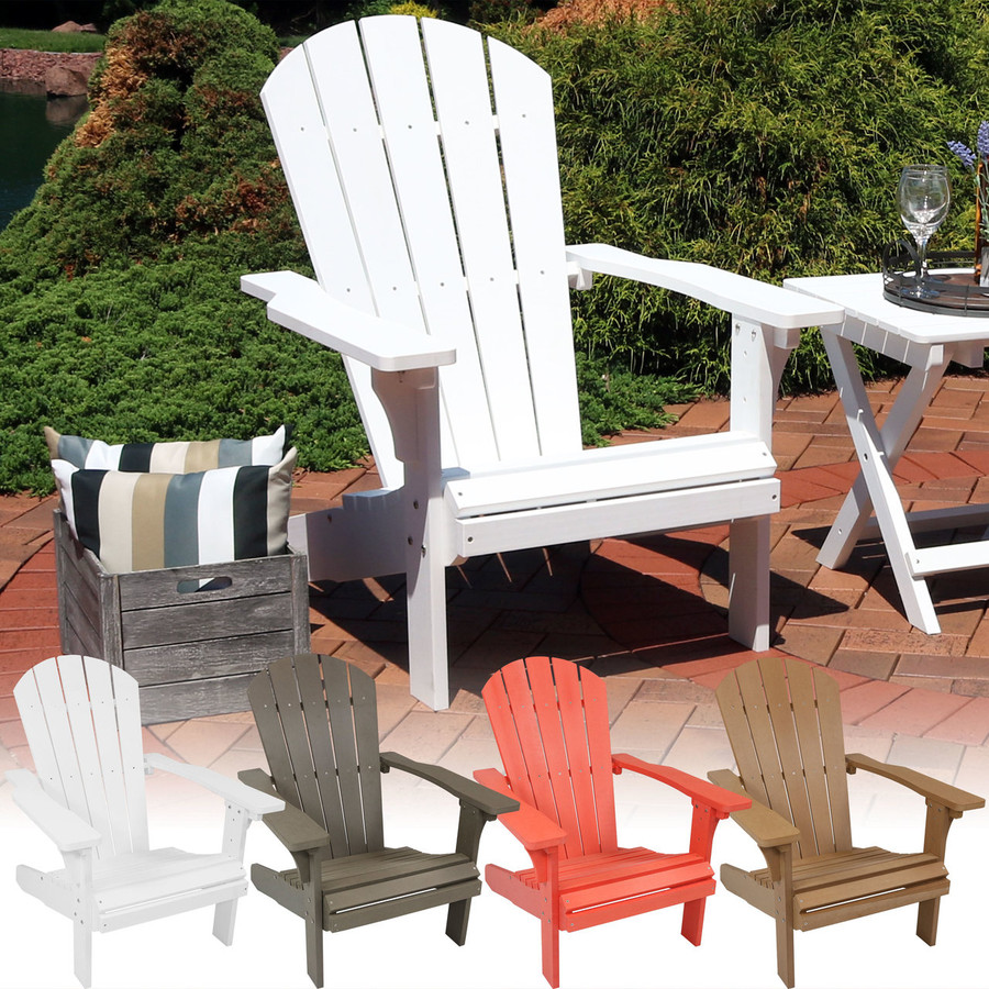 All-Weather Adirondack Patio Chair