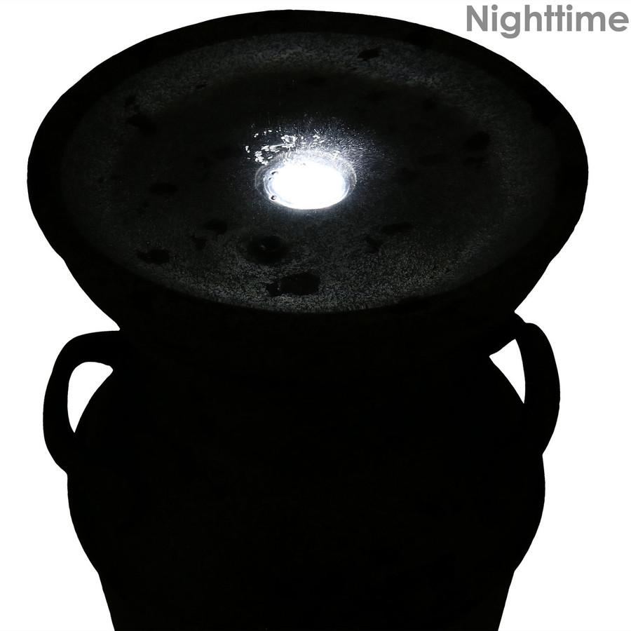 Closeup of Top, Nighttime