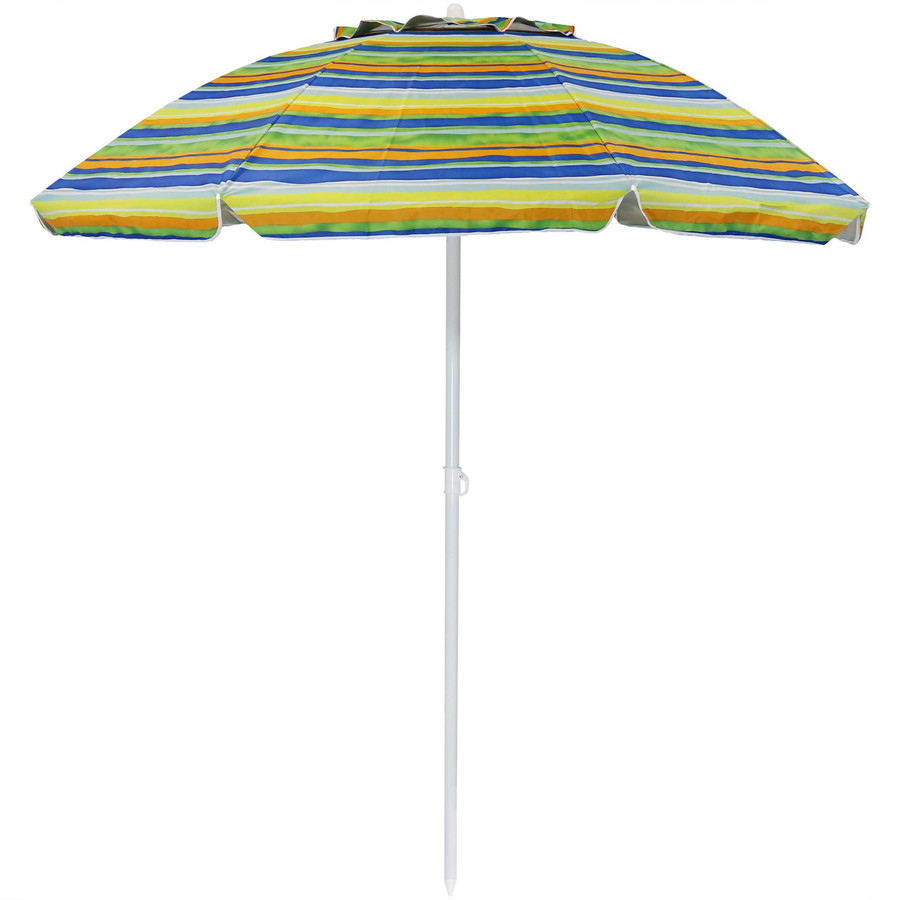 Tropical Fusion Beach Umbrella