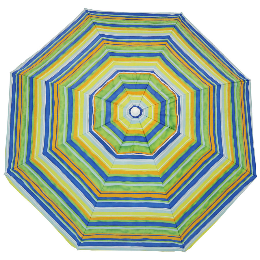Tropical Fusion Beach Umbrella Top View