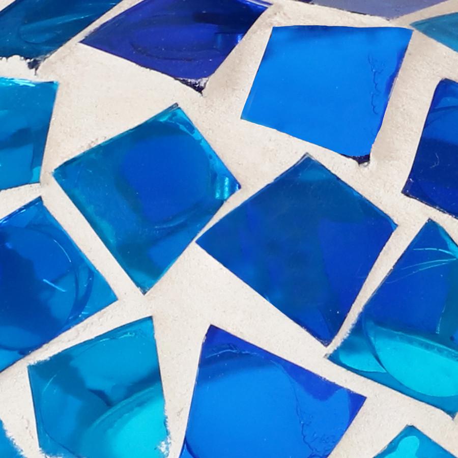 Blue Mosaic Swatch