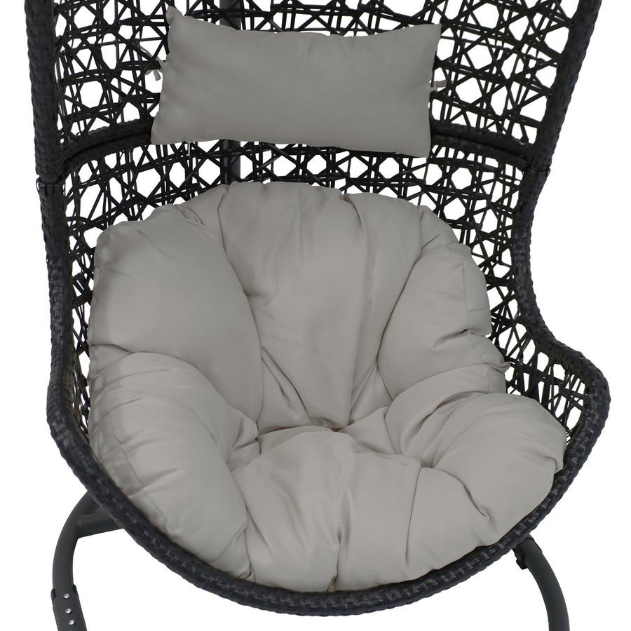 Gray Cushion Closeup