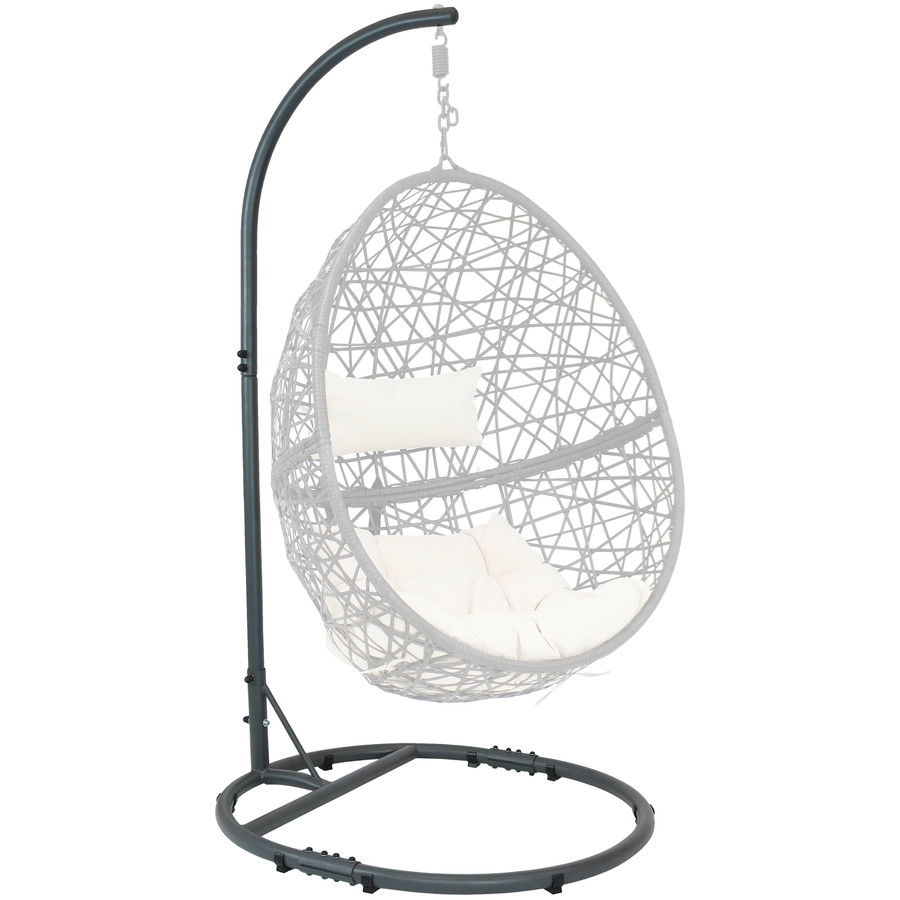 Front Angle with Egg Chair (Not Included)