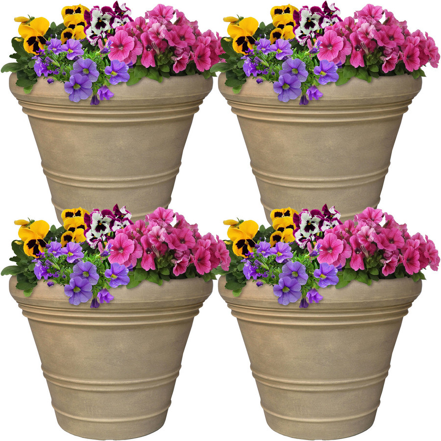 Prescott Indoor/Outdoor Planter, Set of 4