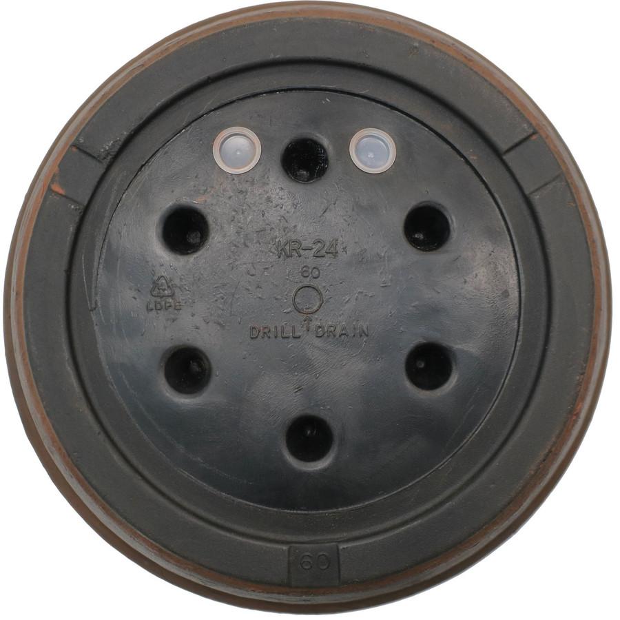 Bottom View of Anjelica 24-Inch Diameter Planter