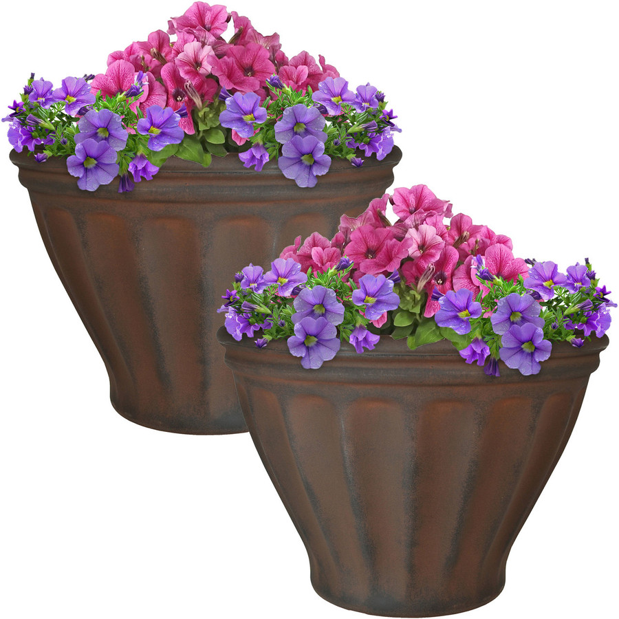 Charlotte Indoor/Outdoor Planter, Set of 2