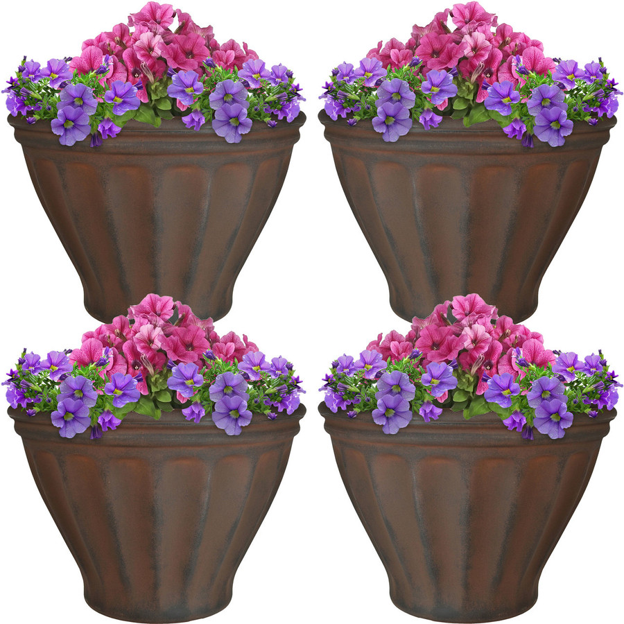 Charlotte Indoor/Outdoor Planter, Set of 4