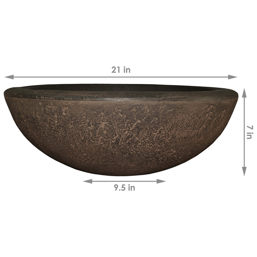 Dimensions of Percival Indoor/Outdoor Planter