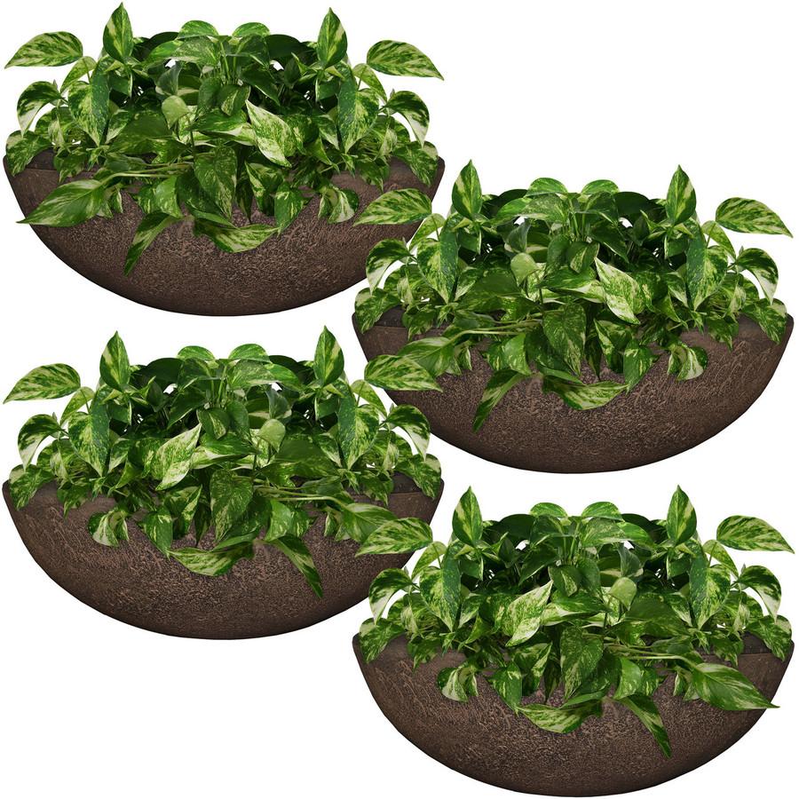 Percival Indoor/Outdoor Planter, Set of 4