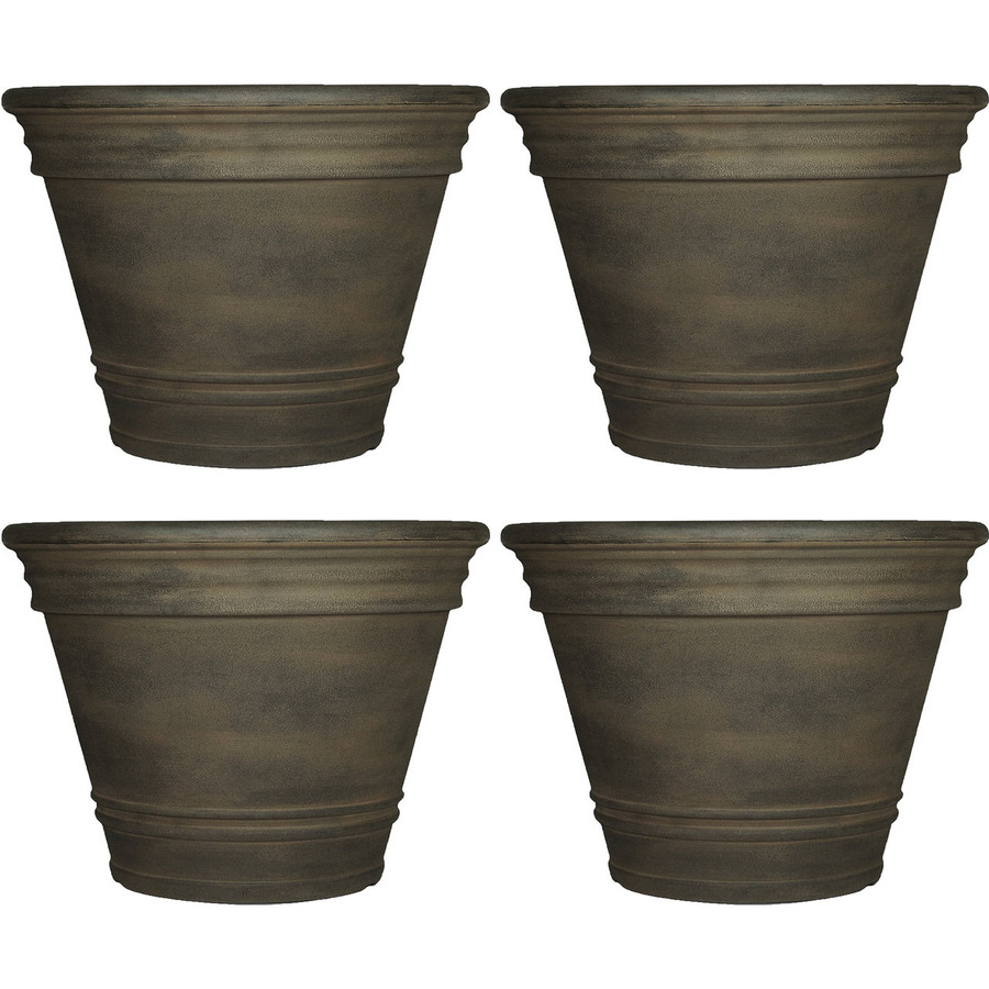 Franklin Indoor/Outdoor Planter, Set of 4