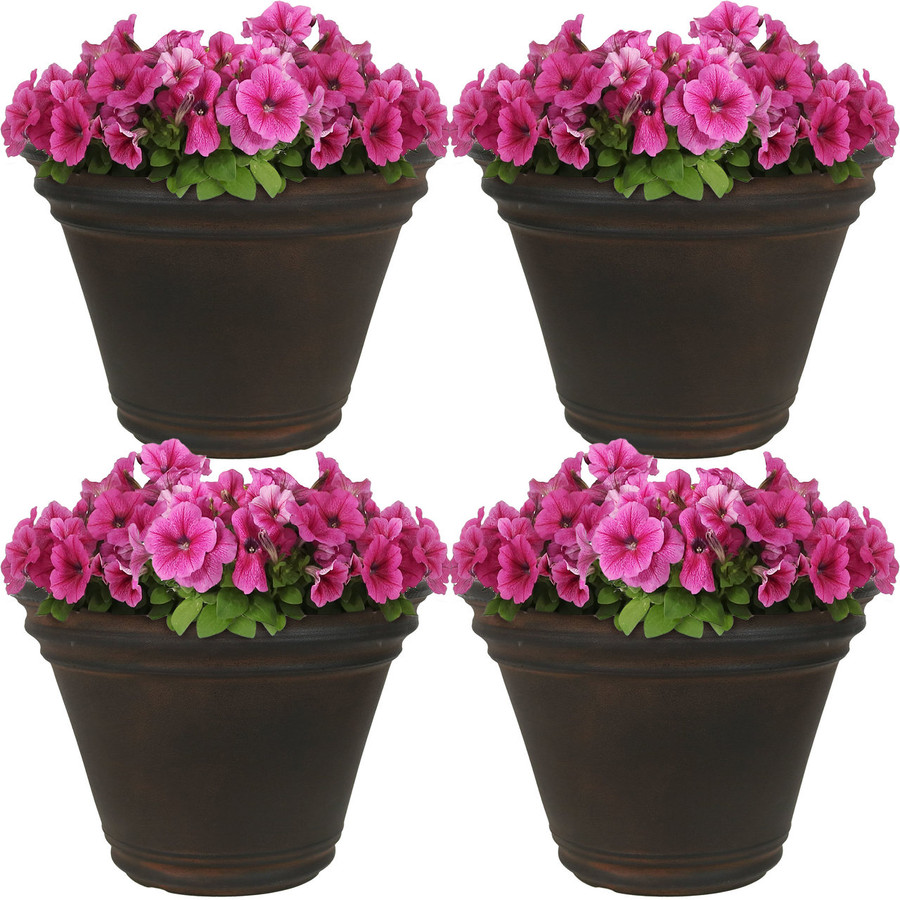 Stewart Indoor/Outdoor Planter, Set of 4