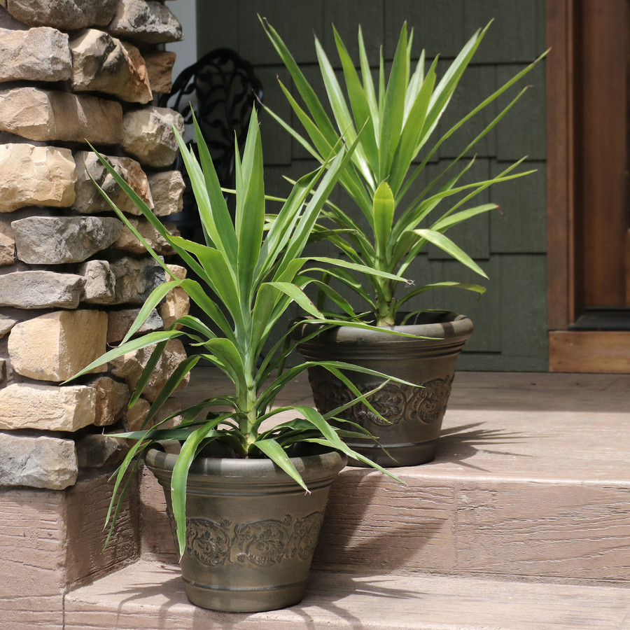 Gwendolyn Indoor/Outdoor Planter, Set of 2
