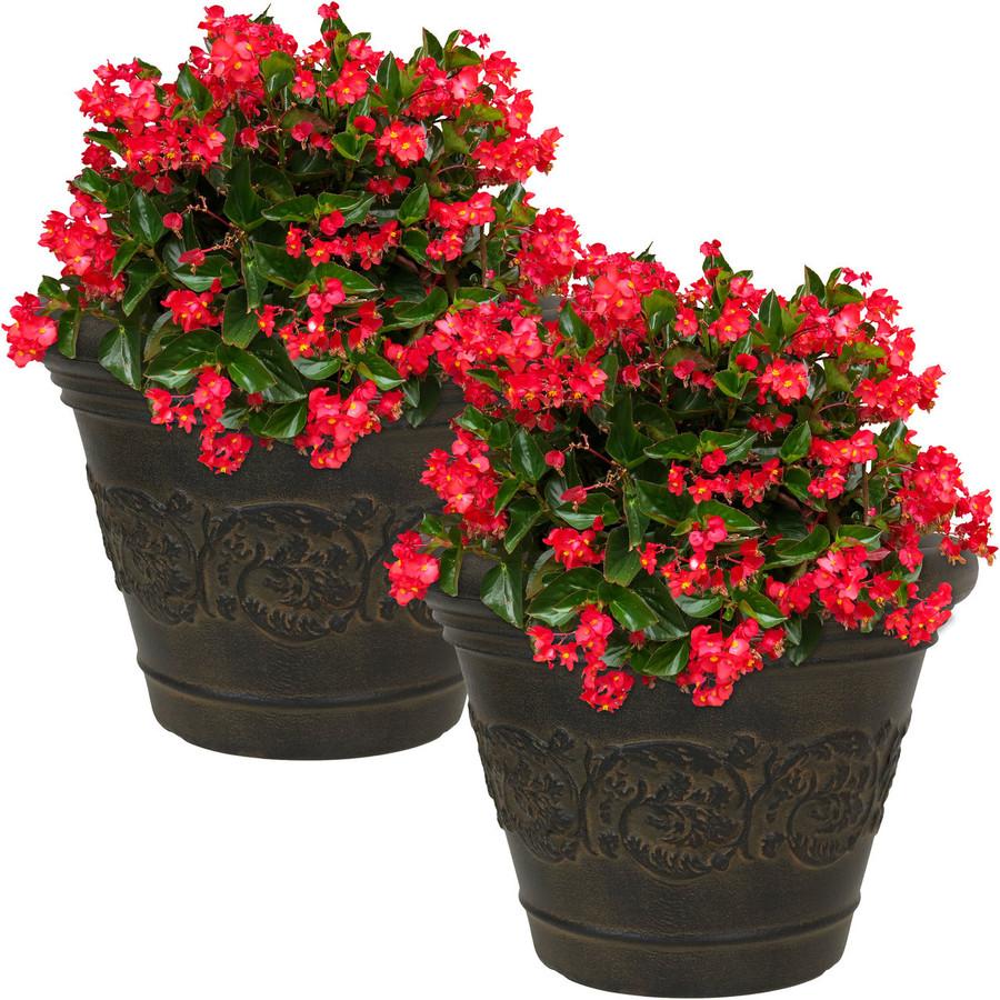 Gwendolyn Indoor/Outdoor Planter, Set of 2