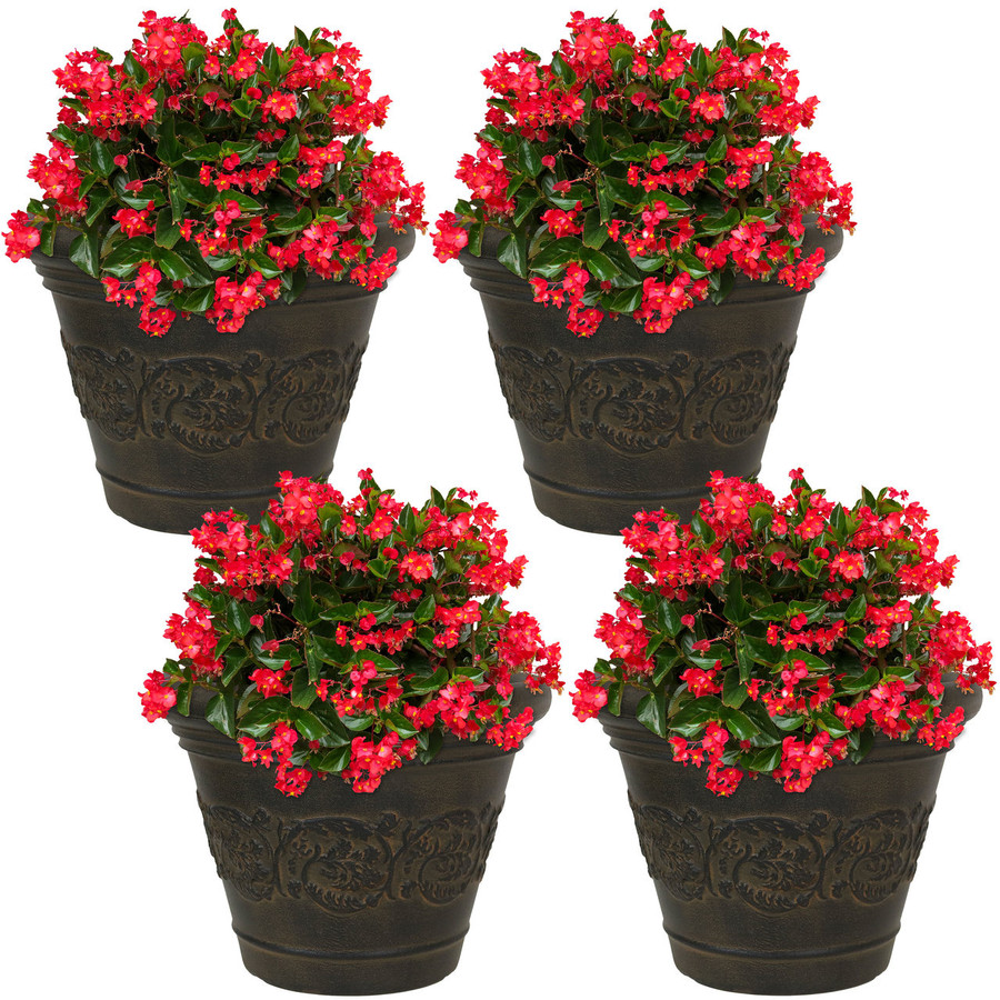 Gwendolyn Indoor/Outdoor Planter, Set of 4