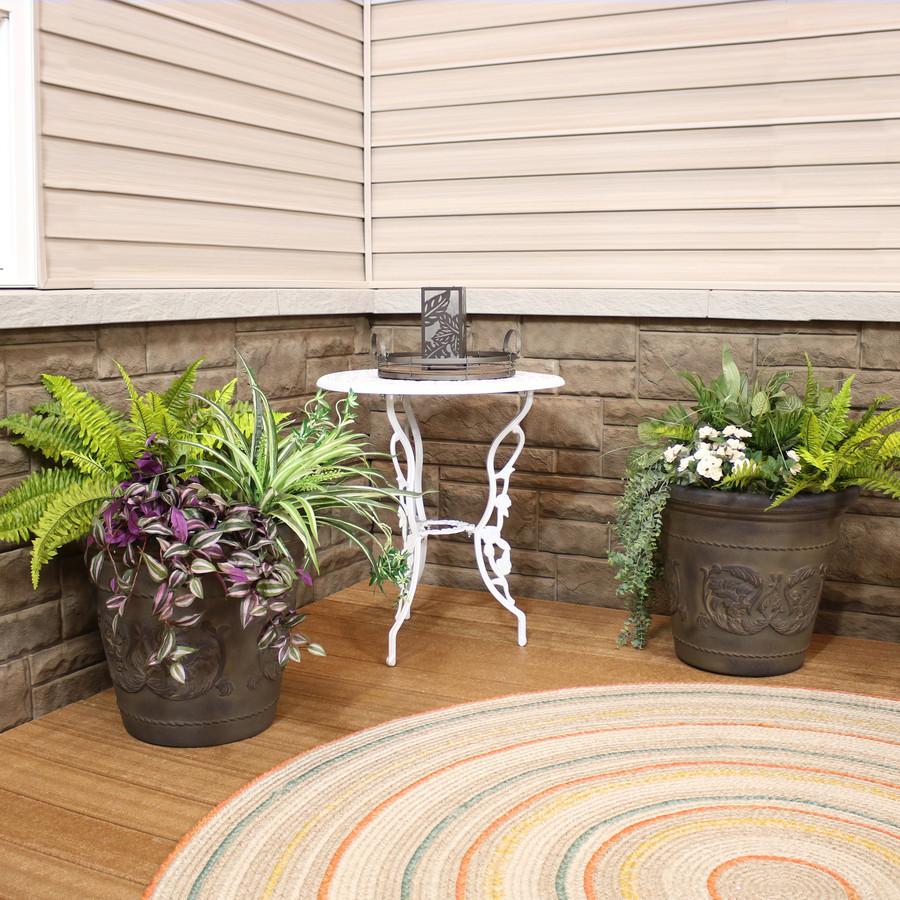 Arabella Sable Indoor/Outdoor Planter, Set of 2
