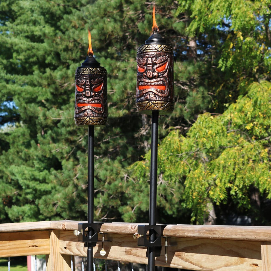 Deck Mounted Torches