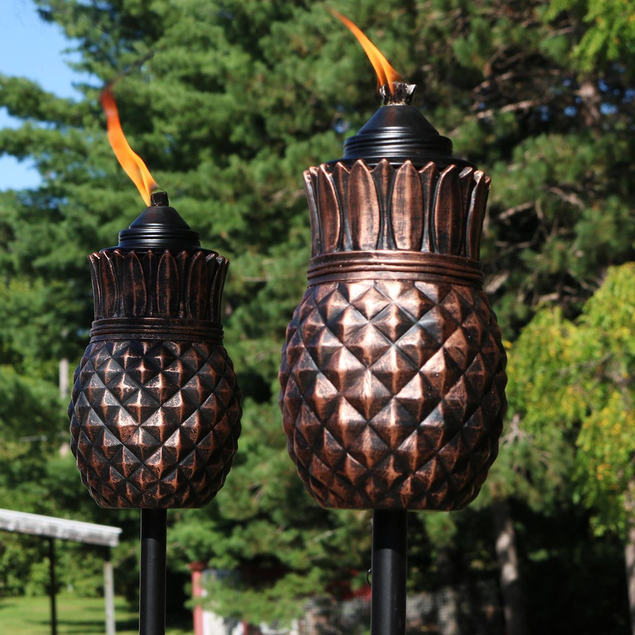 Closeup of Torches