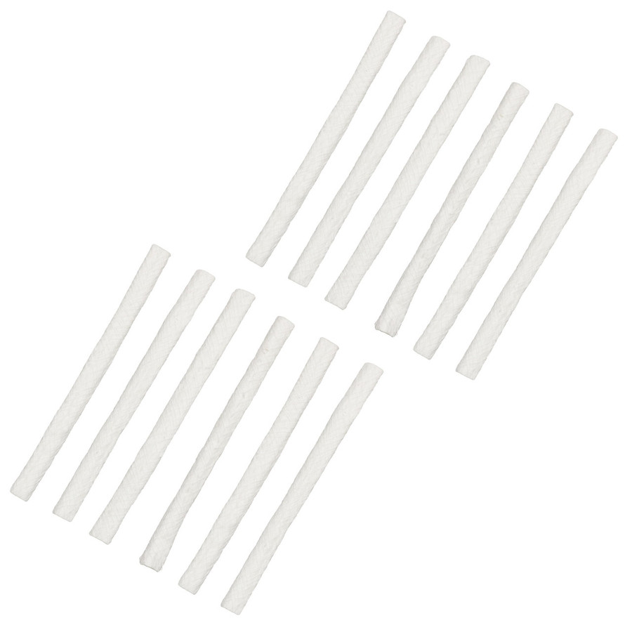 Fiberglass Replacement Wicks, 12-Pack