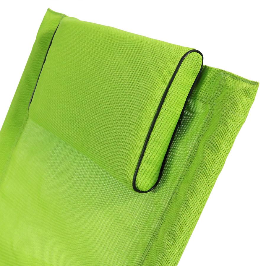Green Pillow Closeup