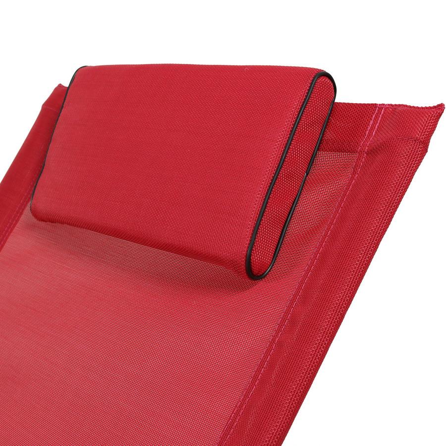 Red Pillow Closeup