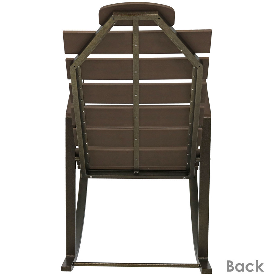 Back View on Chair
