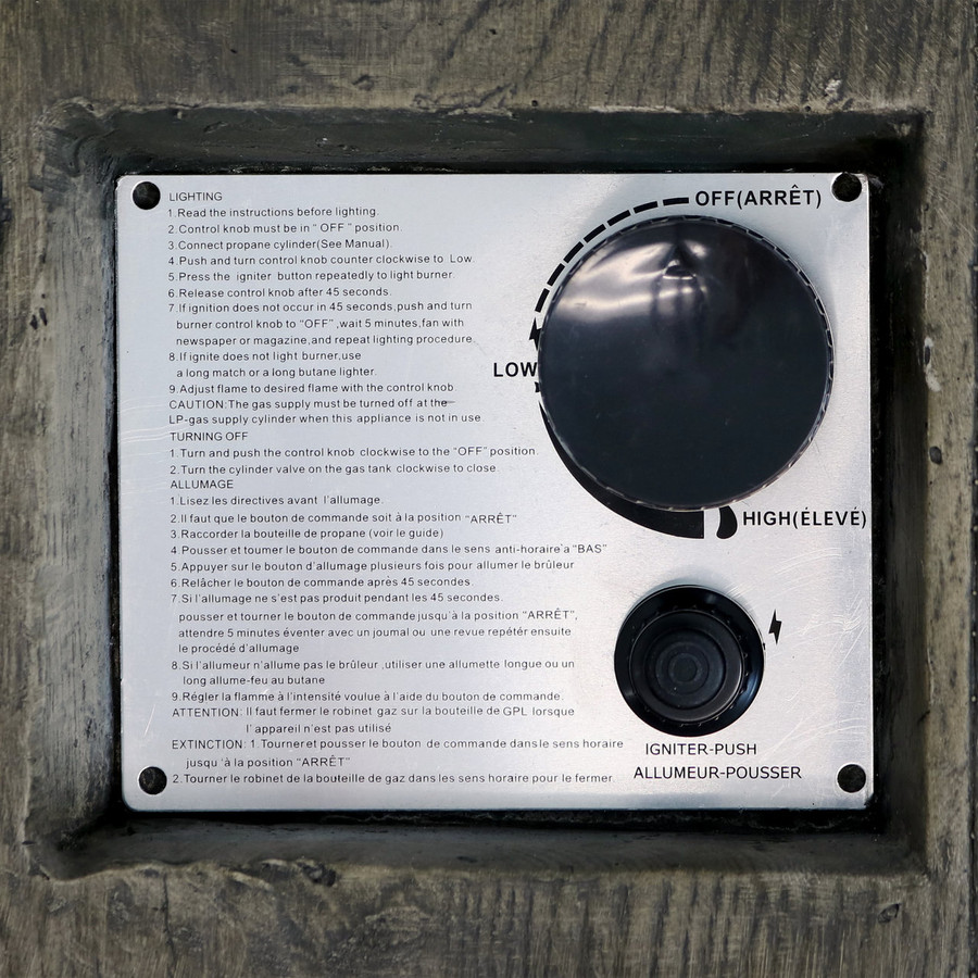 Closeup of Electronic Control Panel