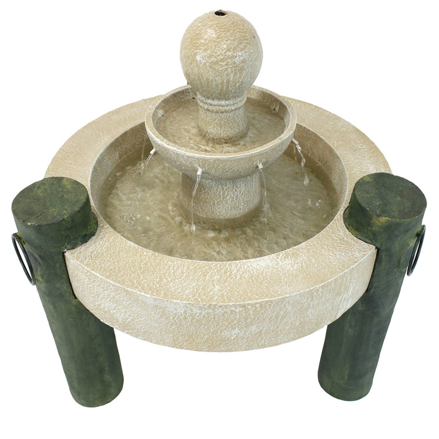 Top View of Fountain