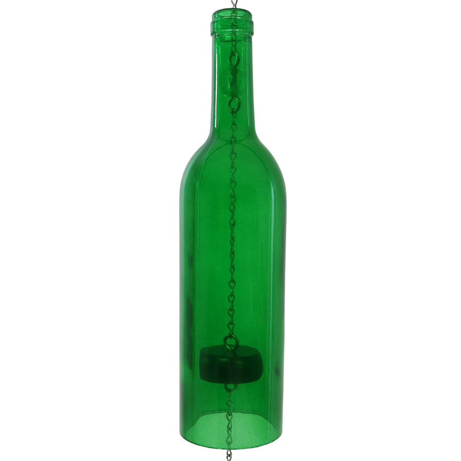 Closeup of Bottle, Green