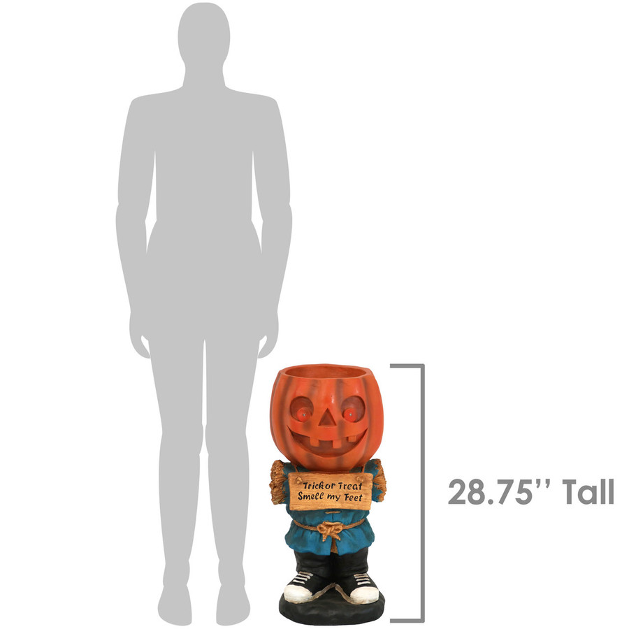 Height of Jack the Scary Pumpkin Statue