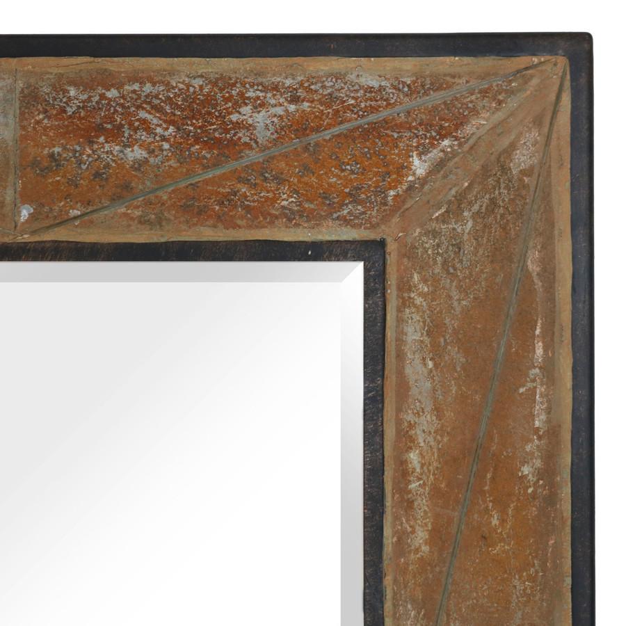Closeup of Corner of Slate Frame