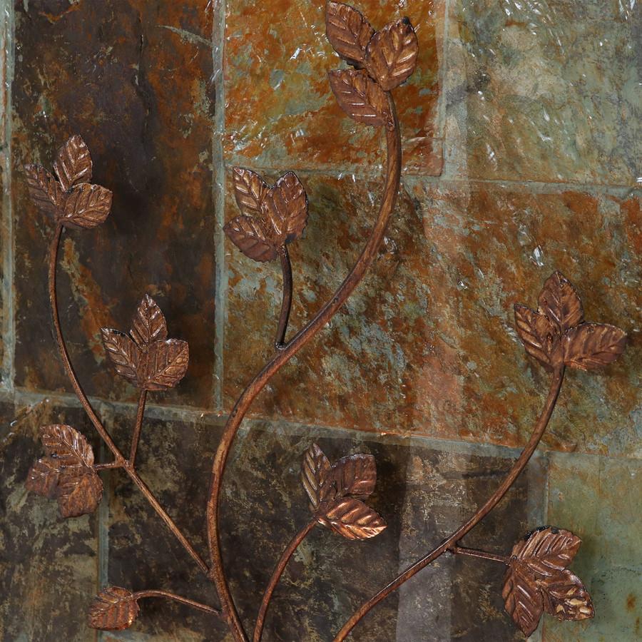 Closeup of Metal Climbing Vines