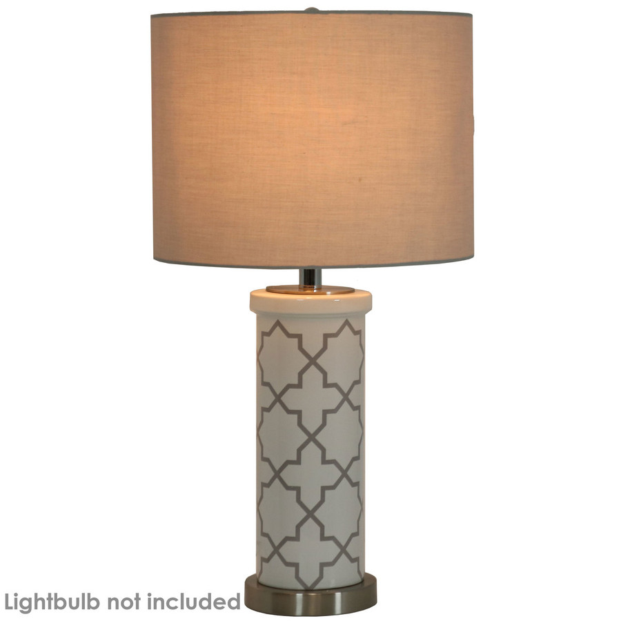 Lit Indoor Table Lamp (Lightbulb Not Included)