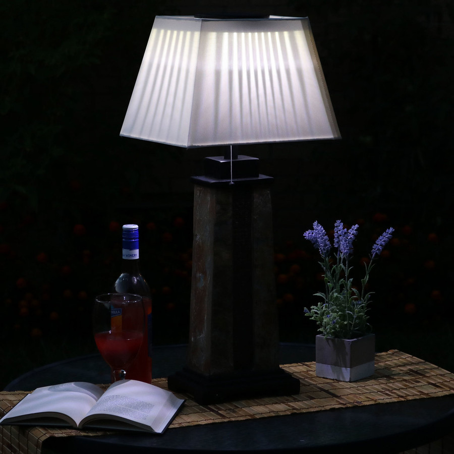 Lamp at Nighttime