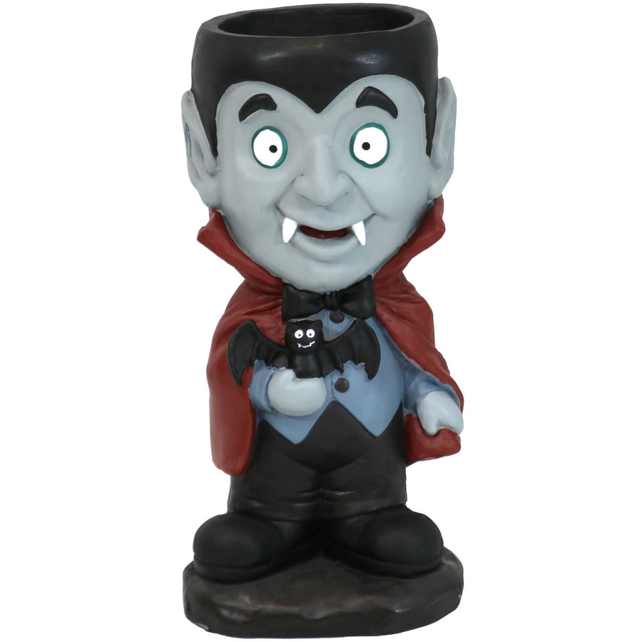 Count Dracula Vampire Halloween Large Statue with Built-In Candy Bowl