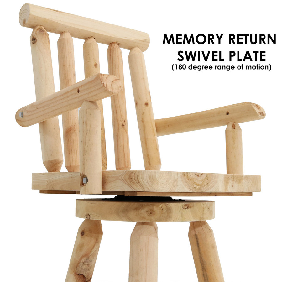 Memory Return Swivel