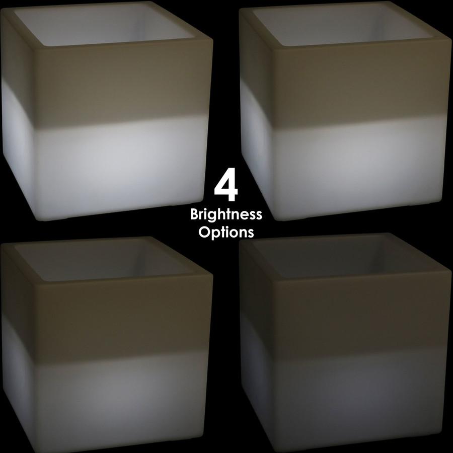 4 Brightness Options