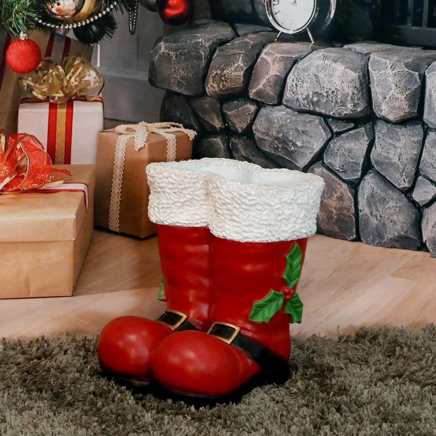 Santa Boots Statue