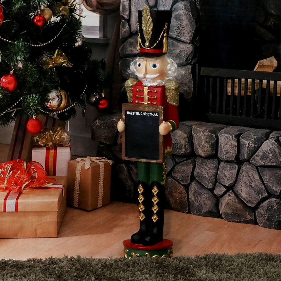 Friedrich the Nutcracker with Sign