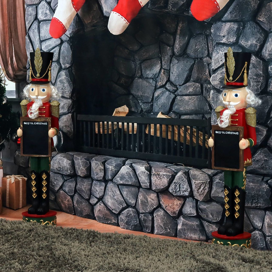 Friedrich the Nutcracker with Sign Set of 2