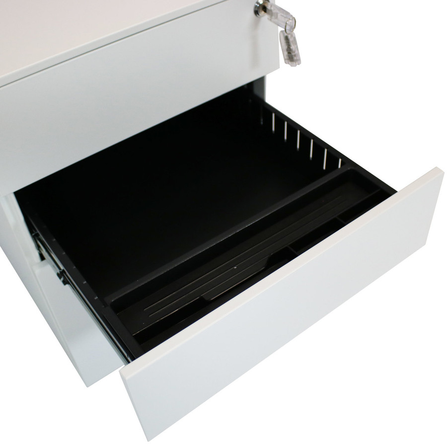 Closeup of Open Middle Drawer