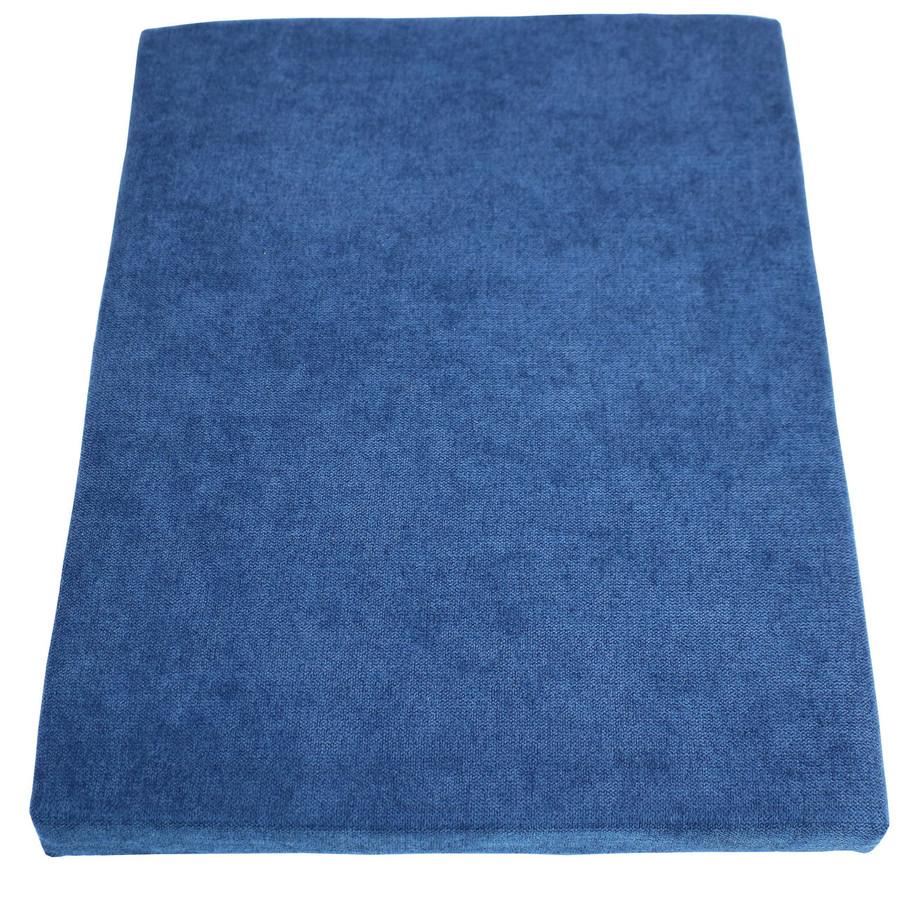 Blue File Cabinet Cushion