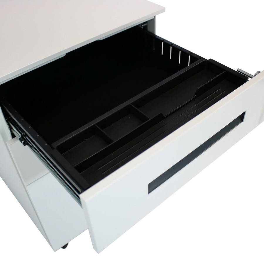Closeup of Open Top Drawer