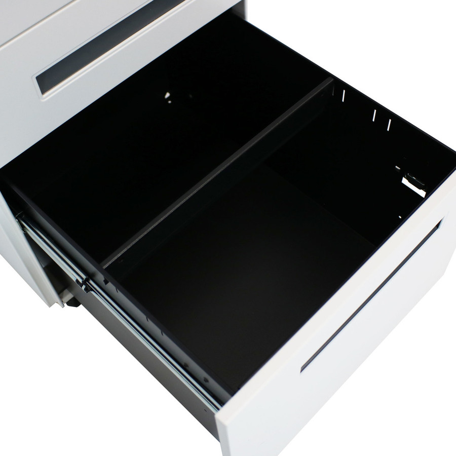 Closeup of Open Bottom Drawer