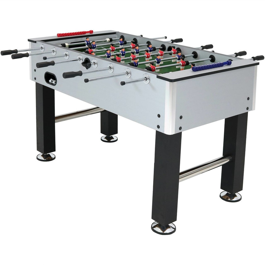 Metallic Foosball Table