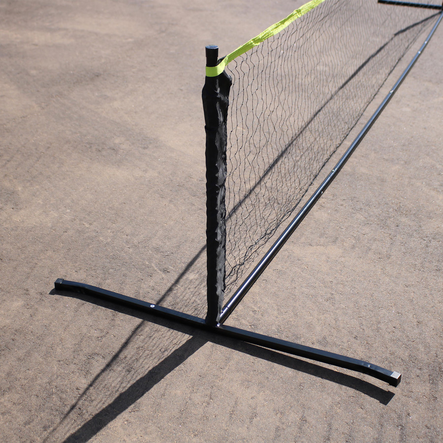 Sunnydaze Portable Pickleball Net and Stand, 12-Foot