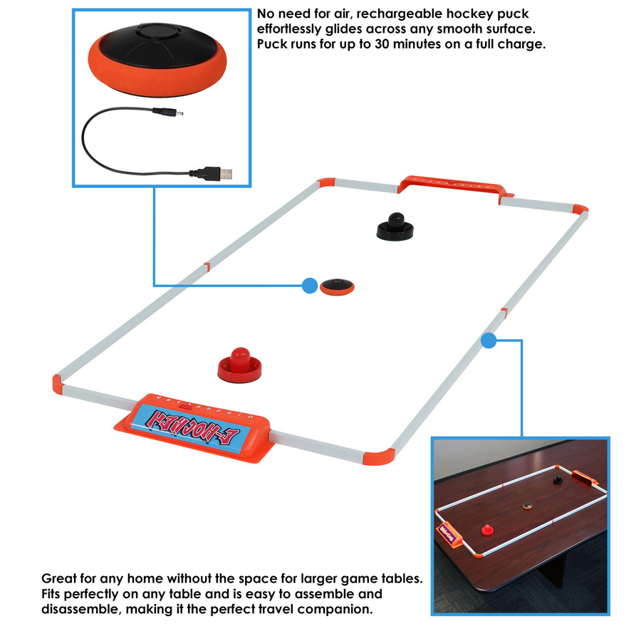 52-Inch E-Hockey Set Infographic